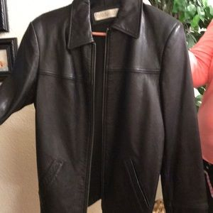Black Lambskin Women's Jacket